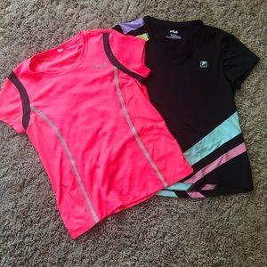 Set of 2 Fila T-shirt's